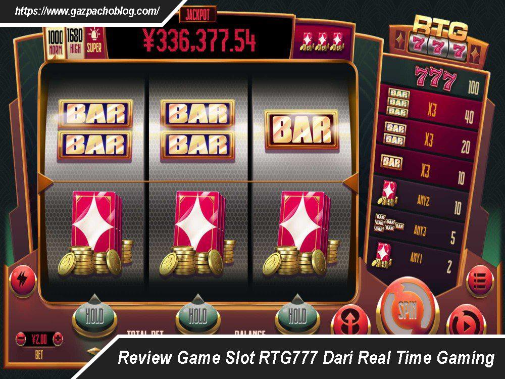 Review Game Slot RTG777 Dari Real Time Gaming