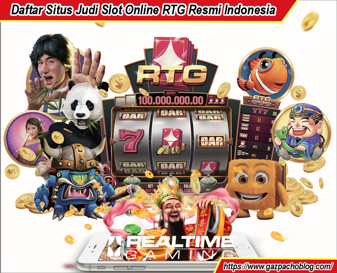 Daftar Situs Judi Slot Online RTG Resmi Indonesia